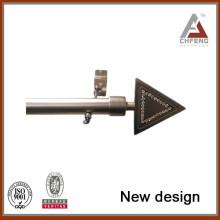 Pistolas de Cortina, Pistas y Accesorios Tipo y Tipo de Metal de Hierro Rod de Cortina