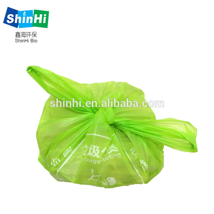 Corn Starch Durable and portable customization garbage bags