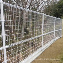 China made best quality numata metal industrial fence, ornamental double loop wire mesh fence