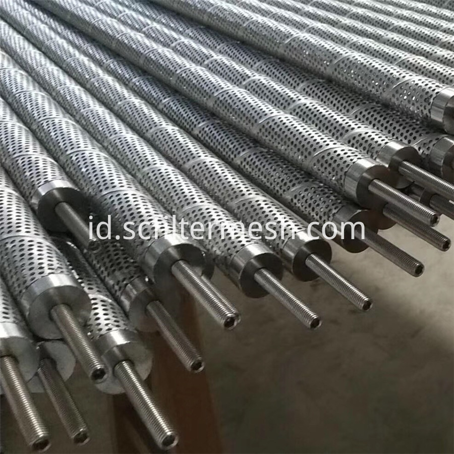 Perforated Metal Filter Pipe