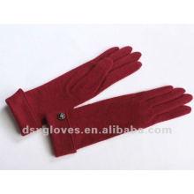 long turn cuffed cashmere gloves