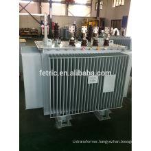 Low loss oil immersed 700kva transformer