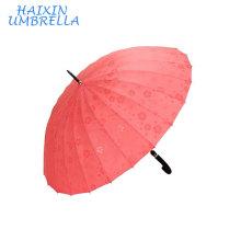 Новый рекламный лотоса воды цветок Показать изменение цвета зонтик, когда мокрый дождь зонтик для автомобиля и наружного применения