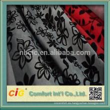 tela del sofá chenille / tela flocado del sofá / tela de la tapicería para los muebles