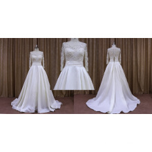 Wholesale Long Sleeve Stain Wedding Dress