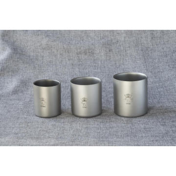 Outdoor Pure Titanium Cup voor Hiking Titanium Cup