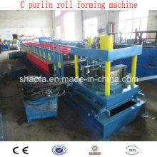 Machines de formage de rouleaux en acier Channel Channel Channel (AF-C80-300)