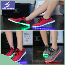 OEM New Style Fashion LED Light Comfort Chaussures de sport pour homme