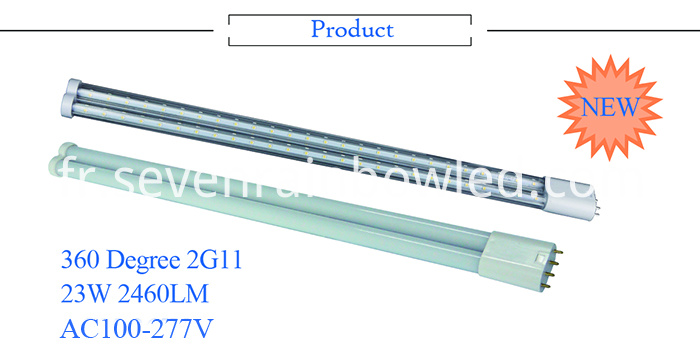 LED 2G11 Tube light