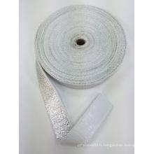 Ruban ignifuge en fibre de verre / ruban isolant thermique