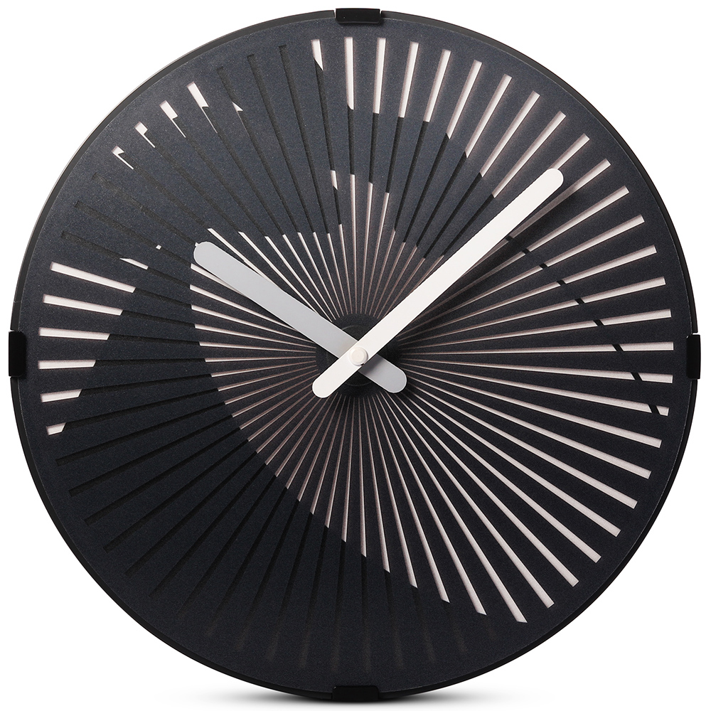 Motion Wall Clock- Playing the Drum