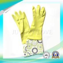 Cleaning Work Anti Acid Latex Gloves