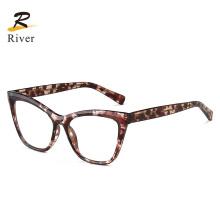 Popular Classical Cat Eye Anti Blue Light Tr Frame Eyeglasses Frames