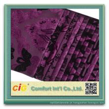 Chenille Sofá tecido Flock sofá tecido tecido de veludo
