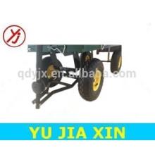 China Qingdao carro de descarga de jardín barato
