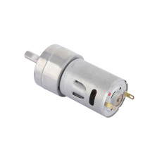 Custom speed permanent magnet planetary 12v 24v gear motor with double chaft