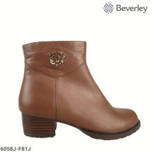 chengdu buckle women cow boy boot