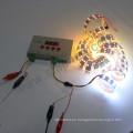15mm 120 leds / m smd5050 rgb ws2812b sk6812 5v dotstar doble Led Pixel Strip