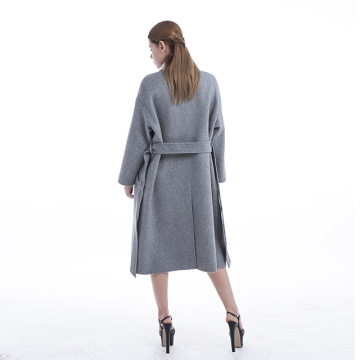 Lapel OL professionell mode cashmere coat