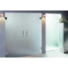 Puertas de vidrio, vidrio de baño de Clear Sheet Decorative Fence Panles