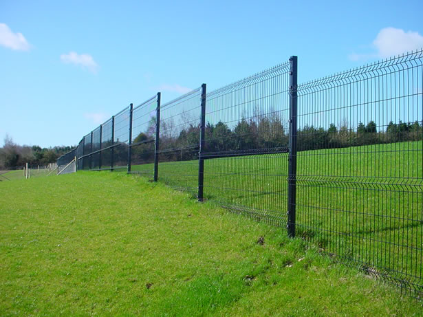 Welded wire fencing distribution of the world
