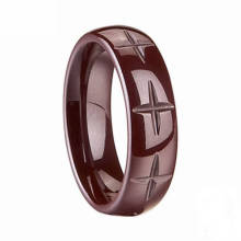 Hot Selling Wholesale Flowing Cross Ring Jewelry Settings Without Stones
