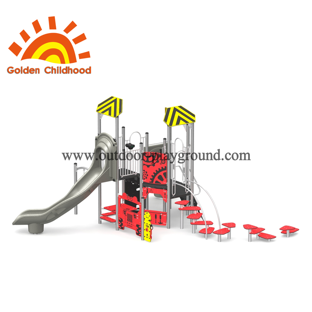 Combinated Commeicial Outdoor Playground