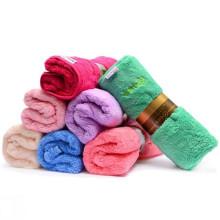 Супер мягкий изготовленный на заказ ватки полотенце для лица