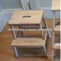 Wooden Step Hocker Made in Vietnam