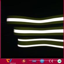 Fita retardadora de chama reflexiva infravermelha do algodão 100% feito sob encomenda para o sapador-bombeiro