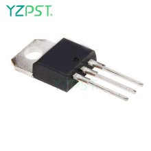 TO-220AB membentuk thyristor triac BTB16