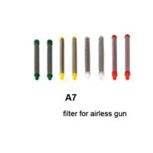 Filtro de cor de filtro de pistola airless