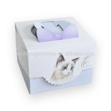 Boîte d'emballage en papier de prix usine pour boîte à gâteaux grand emballage de gâteau