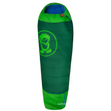 Cold Weather Kids Lightweight Mummy Hollow Waterproof Fiber Camping Sleeping Bag Extendable