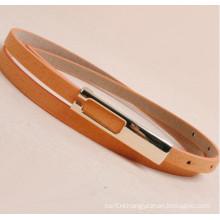 Lady suede fashion pu leather belt