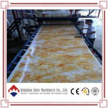 Экструзионная машина для производства мраморных плит из ПВХ