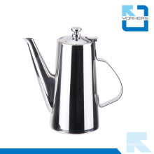 Practical Use 201 Stainless Steel Water Kettle and Tea Pot with Long Spout