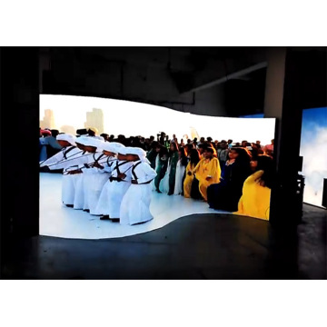 Unsurpassed Color Uniformity Indoor Curved LED Display
