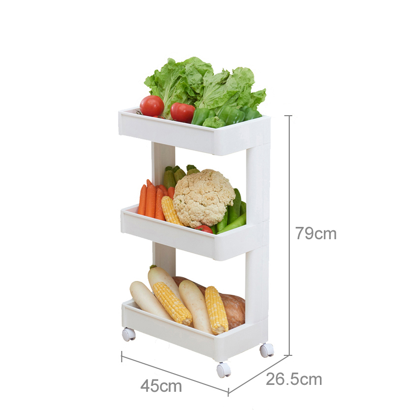 Plastic multifunctional shelving