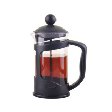 Hot Sale Plastic Handle Pyrex Borosilicate Glass Coffee Pot