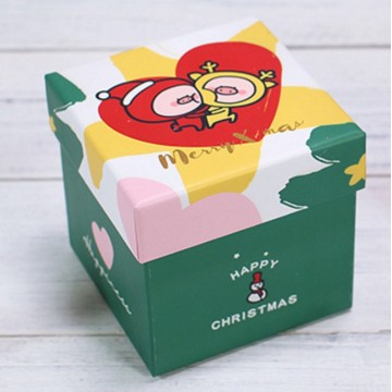 Cheap Christmas gift box for socks or toys