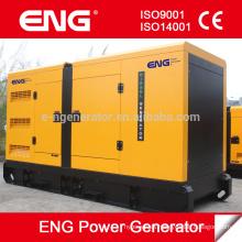 6 cilindros diesel refrigerado por agua con CUMMINS generador silencioso 68kw