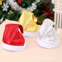 Christmas adult Christmas hat sequined Christmas decorative hat for the elderly party performance decorations 0
