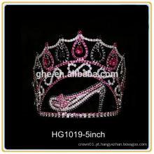 Tiaras de tiaras da coroa de baile tiara para coroas de tiara de festa de garotas