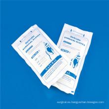 Guantes lisos y rugosos, no estériles del examen del látex con CE, ISO,