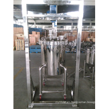 Stainless Steel Mixing Tank with Agitator and Brace
