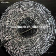 galvanized barbed wire 2.5*2.0mm Best price for 2 Strand Barbed Wire