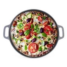 Hot Sale Cast Iron Pizza Pan with CIQ, EEC, FDA, LFGB