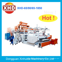 Low cost high speed automatic cast stretch cling film machine