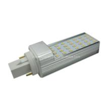 G24 Bombilla LED 4pins 28PCS 2835 SMD lámpara fluorescente 120 grados -18W igual